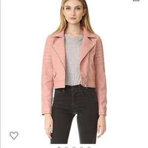 Blank Denim Women's Pretty in Pink Moto Jacket